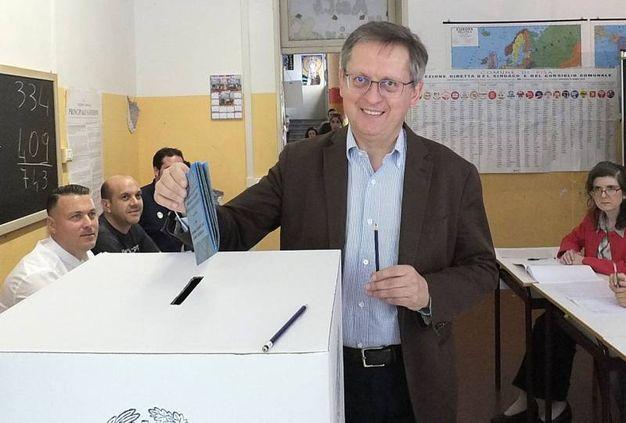 Pisa, il sindaco uscente Marco Filippeschi  (Lapresse)