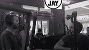 Carloxid con Cattelan a Radio Deejay (foto da Instagram)