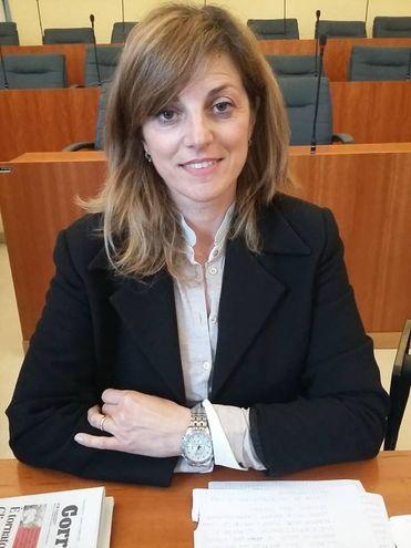 Alessandra Manigrasso del Movimento 5 stelle (foto Iezzi)