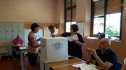 Elezioni comunali a Brescello (foto Lecci)