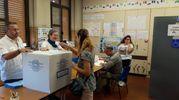 Si vota a Brescello (foto Lecci)