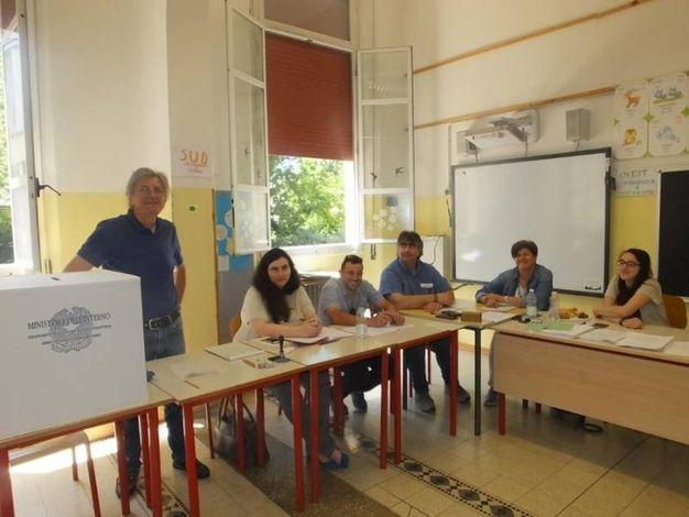Tre i candidati sindaco a Castelnovo Sotto (foto Lecci)
