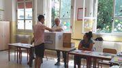 A Castelnovo Sotto sfida tra due veterani e un 23enne (foto Lecci)