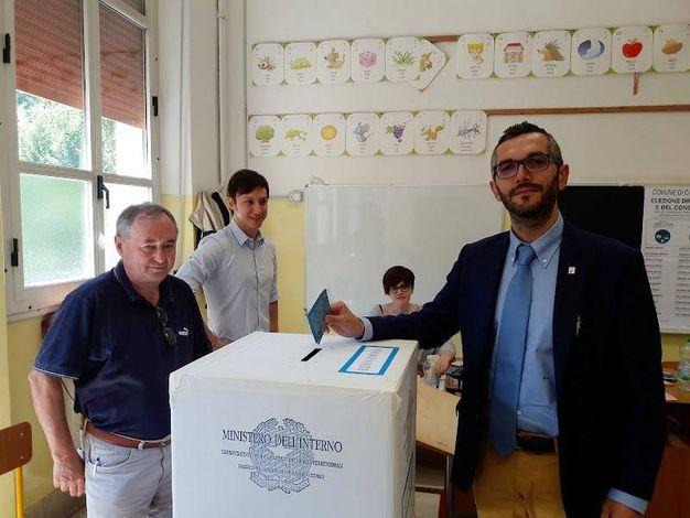 Il sindaco uscente Maurizio Bottazzi (foto Lecci)