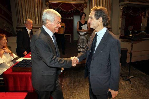 Carlo Sangalli e Attilio Fontana