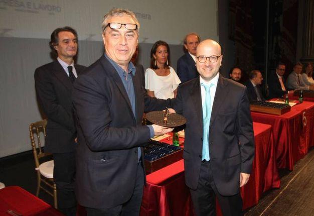Stefano Boeri premia Emanuele Piotto