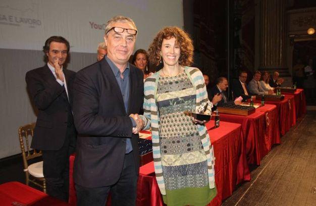 Stefano Boeri premia Luciana Ciceri