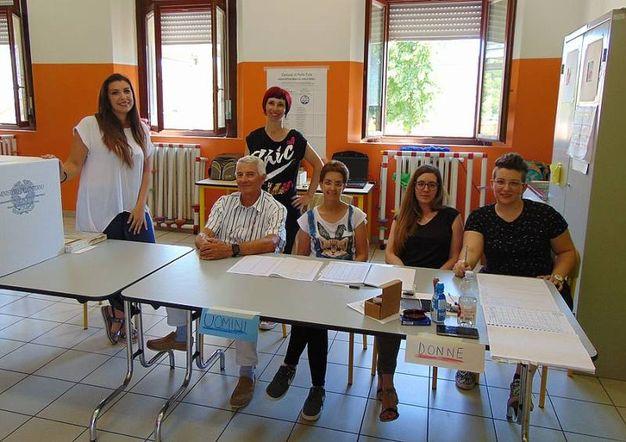 Elezioni comunali a Porto Tolle (foto Braghin)