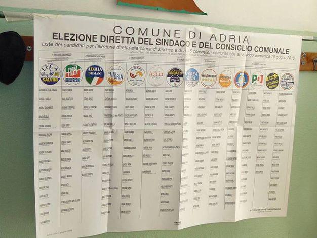 Le elezioni comunali ad Adria (foto Braghin)