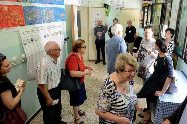 In calo l'affluenza registrata ad Adria (foto Braghin)