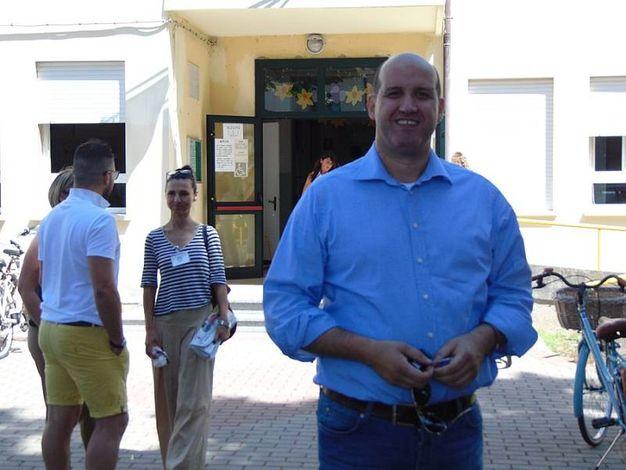 Per la lista civica Cavallari Sindaco 2.0 il candidato è Lamberto Cavallari (foto Braghin)