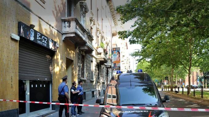 Carabinieri sulla scena del delitto