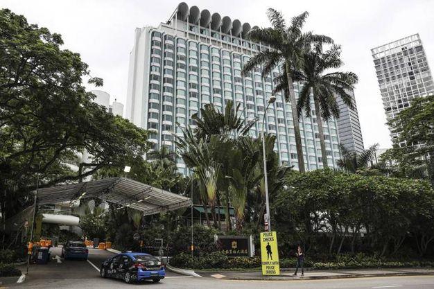 Shangri-La Hotel in  Singapore (Ansa Ap)