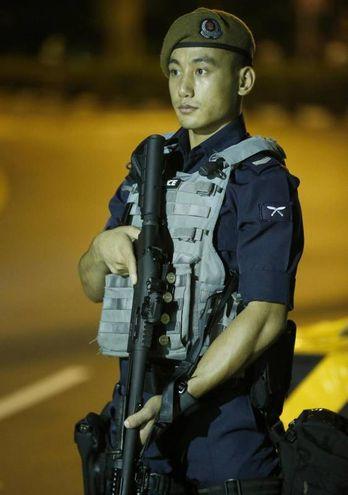 Singapore, sicurezza (Epa)