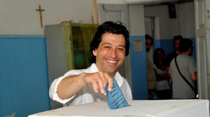 Enrico Piergallini al voto