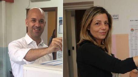 Cavarra (a destra) e Ponzanelli