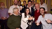 Elisa Deo festeggia la vittoria elettorale a Galeata (foto Fantini)
