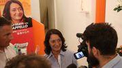 Carmen Cappello, sostenuta da Pd e altre quattro liste civiche (foto Isolapress)