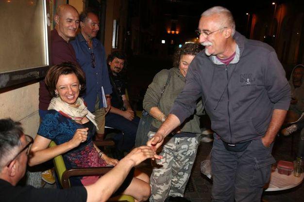 Manuela Sangiorgi del Movimento 5 Stelle (foto Isolapress)