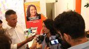 Sarà ballottagio fra Carmen Cappello e Manuela Sangiorgi (foto Isolapress