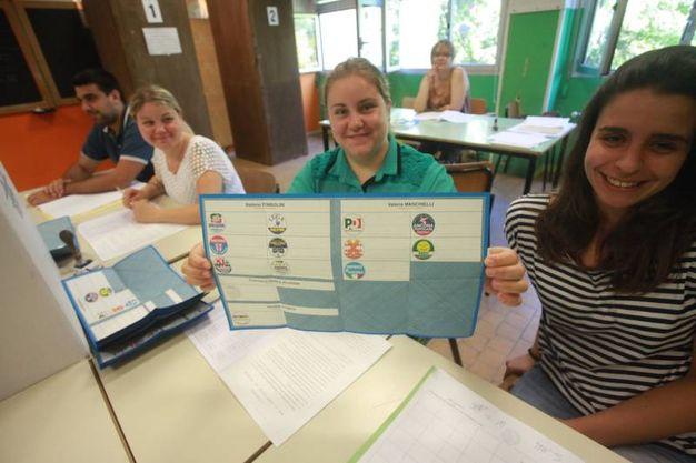 Le elezioni amministrative ad Ancona (foto Antic)