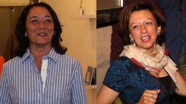 Carmela Cappello e Manuela Sangiorgi (Foto Isolapress)