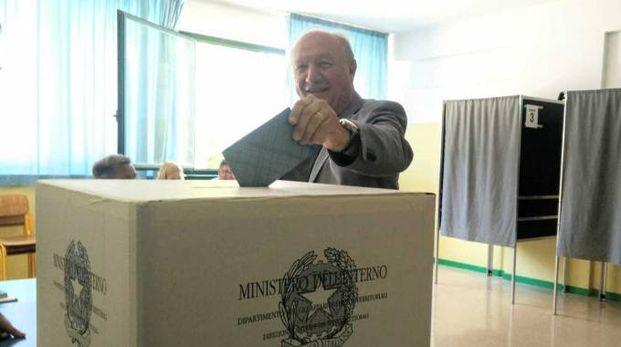 Marco Luchetti al voto