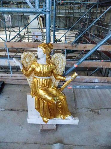 Una statua (foto Bove)