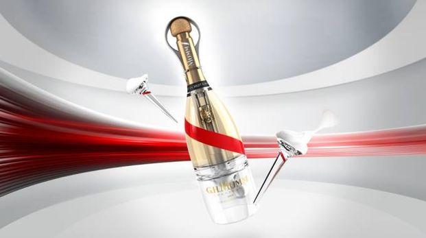 Lo champagne Grand Cordon Stellar, creato per la gravità zero - Foto: G.H. Mumm