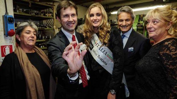 Stabilimento Picchiani e Barlacchi: presentazione del primo conio della moneta di Expo 2015