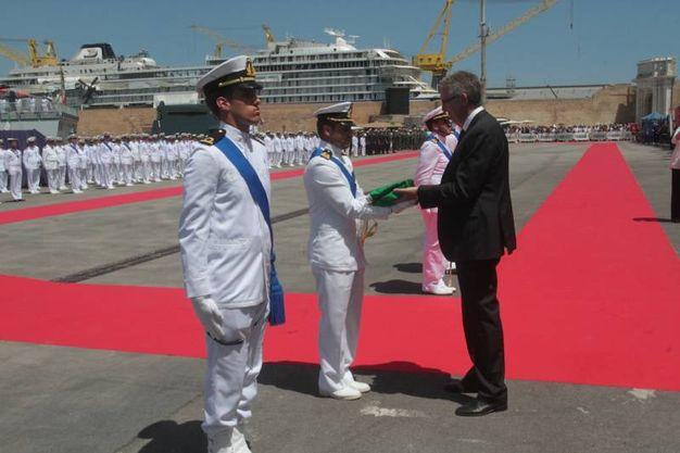 La festa della Marina Militare ad Ancona (foto Antic)