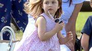 Kate Middleton con la principessina Charlotte (LaPresse)