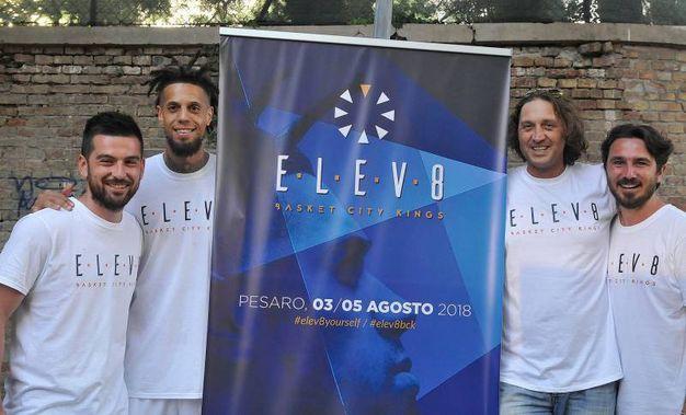 La presentazione di Elev8 Italia, il primo Torneo nazionale di basket dedicato alle Basket City, con montepremi finale, in cui 8 città italiane composte da atleti, professionisti e non, si sfideranno per rappresentare l'amore viscerale per la palla a spicchi delle loro città