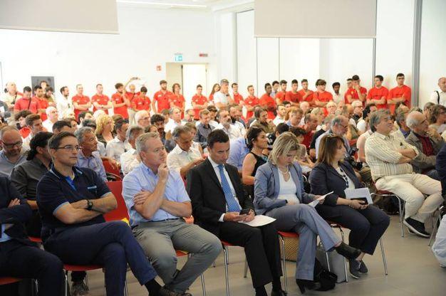 Il pubblico alla presentazione (FotoFiocchi)