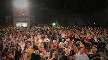 Arena Puccini, la platea del cinema all'aperto