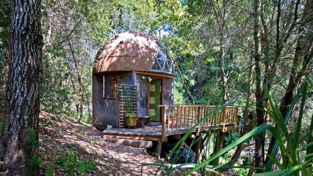 La Mushroom Dome Cabin