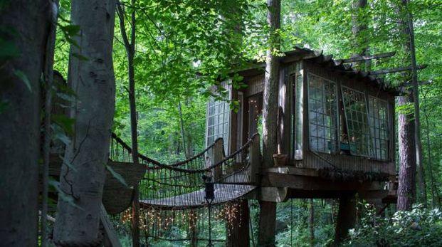 La Secluded Intown Treehouse, la casa più desiderata dagli utenti - Foto: Airbnb