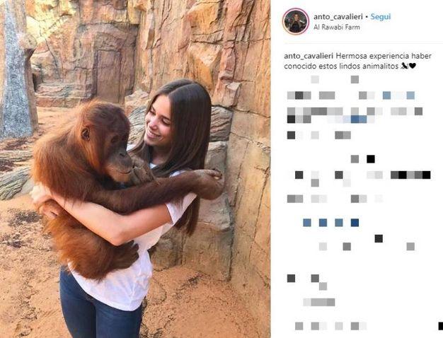 Antonella Cavalieri, bellissima ex di Paulo Dybala su Instagram