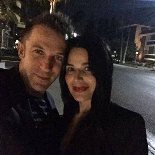 Alessandro Del Piero e la moglie Sonia Amoruso due anni fa (Instagram)