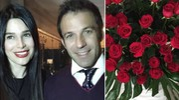 Alessandro Del Piero e la moglie Sonia a San Valentino 2016 (Instagram)