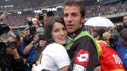 Alessandro Del Piero e Sonia Amoruso nel 2003 (Alive)