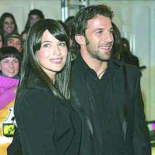 Alessandro Del Piero e Sonia Amoruso nel 2003