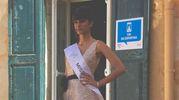 Aylin Nica, la studentessa di Vignola che si è aggiudicata la fascia del main sponsor del concorso, Vitaly's
