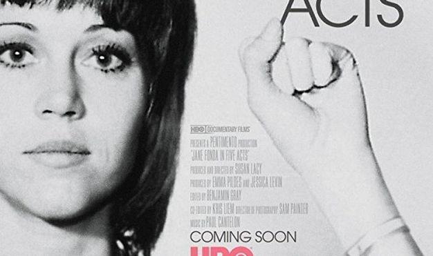 Venerdì 15/6 alle 19 (Arlecchino) «Jane Fonda in Five Acts» di Susan Lacy (133')