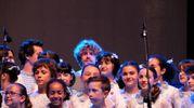 d aprire le danze è stato, il Piccolo Coro Mariele Ventre dell'Antoniano diretto da Sabrina Simoni, con un medley delle canzoni che hanno fatto la storia dello Zecchino d'oro : il Coccodrillo come fa, il caffè della Peppina, le tagliatelle di nonna Pina per finire con 44 gatti del 1968, interpretata anche dalla band (Foto Schicchi)