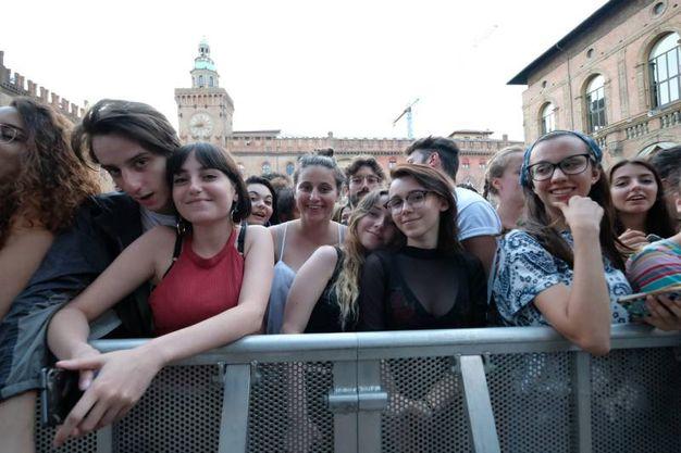 Fan in attesa (Foto Schicchi)