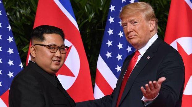 Kim Jong-un e Donald Trump (Lapresse)