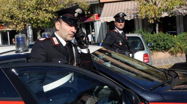 Una pattuglia di carabinieri