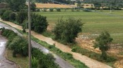 Bufera d'acqua a Terontola: allagamenti e disagi