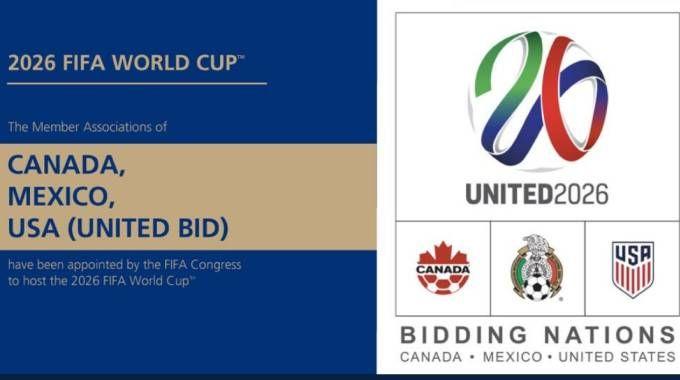 Mondiali di calcio 2026 in Usa-Canada-Messico (da twitter)